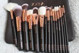 what abby loves zoeva rose gold brush set volume 1