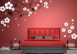 Wall Painting Designs For Bedroom Home Design - Wall paint design