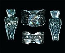 western wedding rings western wedding ring engrved cowboy wedding rings for sale