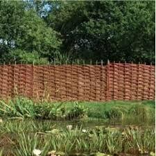 willow hurdles hazel hurdles u0026 woven fence screening wooden