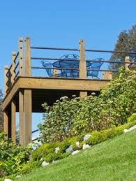 Steep Sloped Backyard Ideas The 25 Best Tiered Deck Ideas On Pinterest Backyard Decks