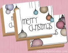 kid drawn christmas cards christmas lights card and decore