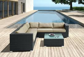 Outdoor Furniture Sectional Sofa Patio Ideas Designer Patio Furniture In Contemporary Outdoor