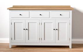White Sideboard With Glass Doors Kitchen Hutch Black Buffet Cabinet Large Sideboard White Brett