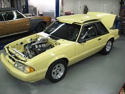 fox mustang drag car build bridge racing building turbo mod motor fox true