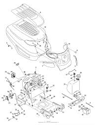 troy bilt 13yx79kt011 horse xp 2015 parts diagrams