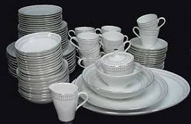 mikasa china nordica pattern 5533 83 set with 6 serving