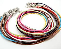colored necklace cords images Necklace cord etsy jpg