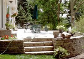 stairs and steps landscaping and landscape design for patio
