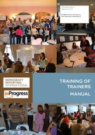 training of trainers manual