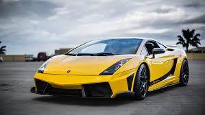 yellow lamborghini front lamborghini gallardo supercar superleggera yellow front hd wallpaper