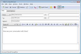 format html for email novell doc groupwise 2012 windows client user guide sending email