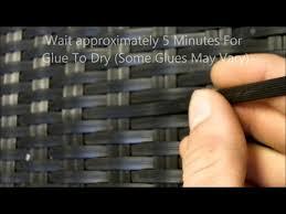 Plastic Wicker Patio Furniture Repair Home Patio Pinterest - Home furniture repair