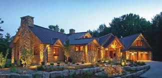 Log Home Styles Custom Luxury Log Home Plans For Country Home Style Brilliant
