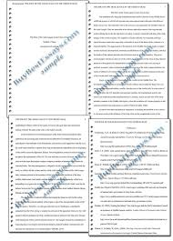 writing in apa format example best 25 apa format sample ideas on pinterest example of apa