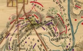 Gettysburg Map Sneden U0027s Treasure Maps Of Gettysburg Before We Go American