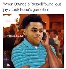 Russell Meme - the d angelo russell memes from mambaday terez owens 1
