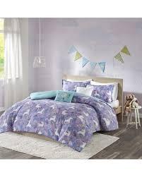 Unicorn Bed Set Savings On Habitat Ella Unicorn Comforter Set Purple