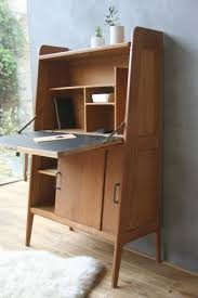 contemporary bureau desk alexandre le secrétaire vintage lapetitebelette mid century