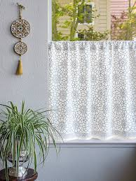 Gray Cafe Curtains Kitchen Curtains Cafe Curtains Tiers Window Treatment Saffron