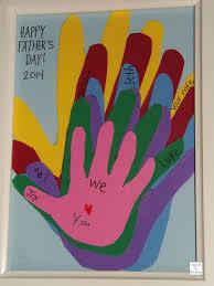 paper handprints keepsake father u0027s day gift