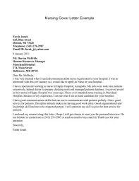 new graduate nurse cover letter examples new grad nurse cover