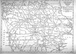 map us iowa p fmsig 1948 u s railroad atlas
