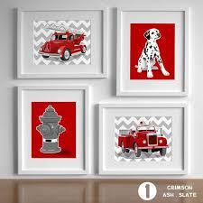 Firefighter Nursery Decor Fireman Nursery Fighter Decor Truck Owen S
