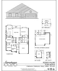 saratoga homes floor plans saratoga homes rodeo palms