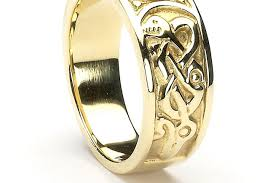 ring claddagh ring with diamonds in 10ct yellow gold amazing