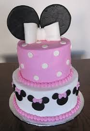 baby shower cakes pink minnie mouse cake