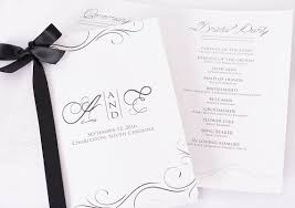 printing wedding programs custom wedding programs beautiful printed wedding by labelsrus