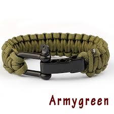 cord braid bracelet images Braided pulseras paracord bracelet parachute cord men kwnshop jpg