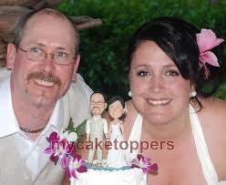 custom wedding cake toppers and groom personalized wedding cake topper and groom cake topper