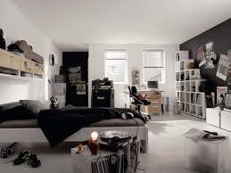bedroom impressive black and white boys bedroom decoration ideas