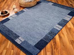 designer teppich arizona designer teppich arizona bordüre blau in 4 größen lidl