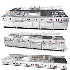 equipement cuisine commercial industrielle comptoir gaz hôtel matériel de cuisine commercial table