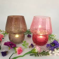Cheap Tea Light Candles China Supply Cracked Tea Light Candle Holder Wholesale Tea Light