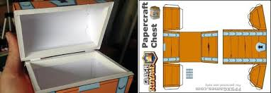 Make Your Own Toy Chest by Papermau Clash Royale Make Your Own Papercraft Chest By