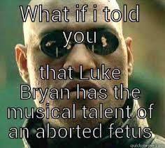 Luke Bryan Memes - the truth about luke bryan quickmeme