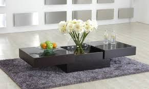 Glass And Wood Coffee Tables Exclusive Designer Coffee Tables Contemporary Living Room Collection