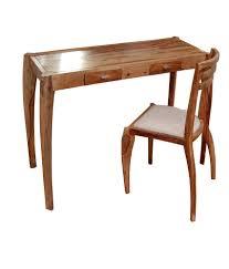 study table chair online ursa major console study table with chair buy ursa major
