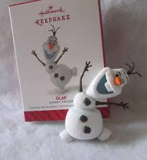 2014 hallmark keepsake ornament olaf disney frozen snowman 2014
