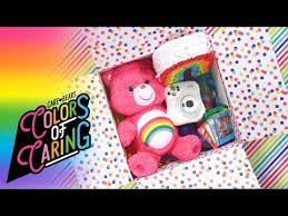 cheer up care package rainbow care bears care package for celebrations ft cheer
