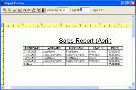 7 sales report templates excel pdf formats