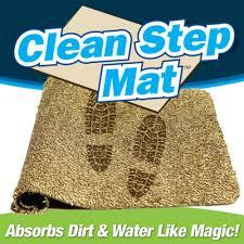 Shoe Mats For Entryway Clean Step Mat Front Door Mat As Seen On Tv Com Shop
