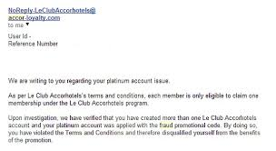 merging duplicate le club accorhotel accounts loyaltylobby