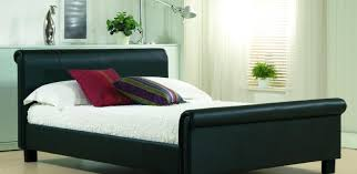 Bedroom Furniture King Sets Bed Unforeseen Gray Sleigh Bed Stunning Modern Sleigh Bed Full