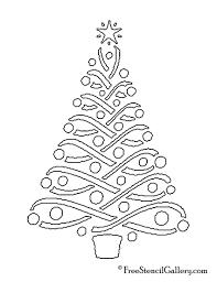 christmas tree templates free christmas lights decoration