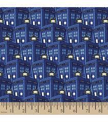 doctor who fleece fabric 59